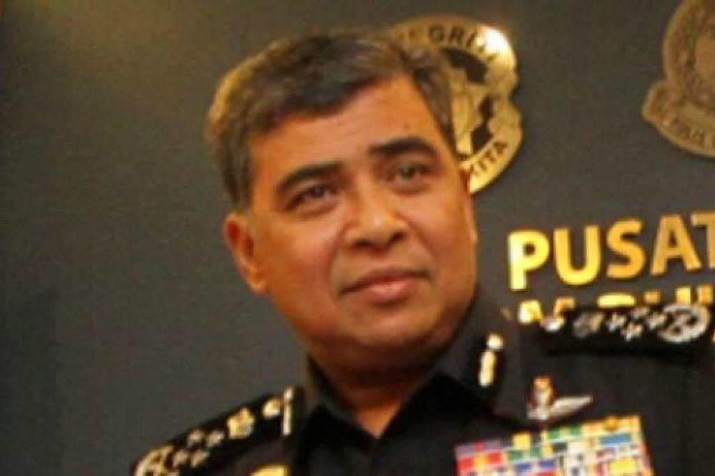 KETUA POLIS NEGARA, TAN SRI KHALID: Ucap syabas atas kejayaan tangkap suspek