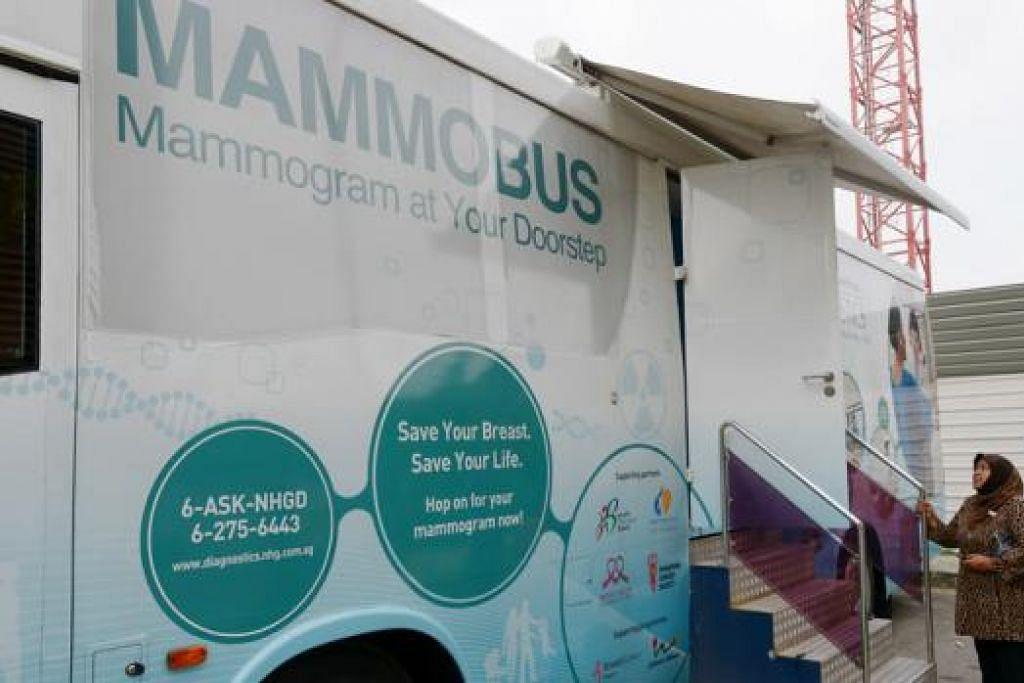 KURANG KESEDARAN: Kajian menunjukkan orang Melayu kurang peka tentang ujian mamogram yang bertujuan mengesan barah buah dada. - Foto TUKIMAN WARJI