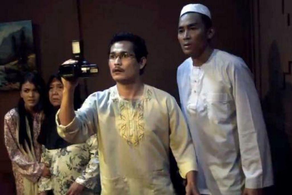 RAKAMAN TULEN: Menurut penerbit filem 'Jengka', Aziz M. Osman, sebahagian daripada klip rakaman insiden sebenar digunakan dalam filem seram terbarunya. - Foto ACE MOTION