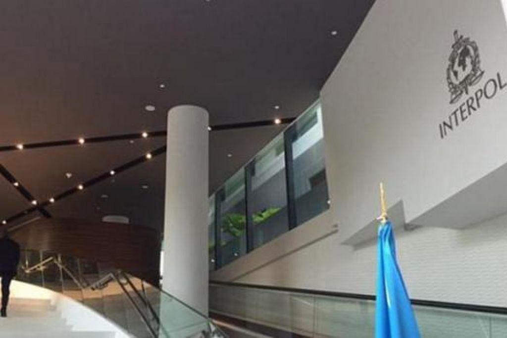 OPERASI PENUH BERMULA: Kompleks Global Inovasi Interpol (IGCI), sebuah kemudahan penyelidikan dan pembangunan Pertubuhan Polis Jenayah Antarabangsa, atau Interpol, memulakan operasi penuh semalam. - Foto THE STRAITS TIMES