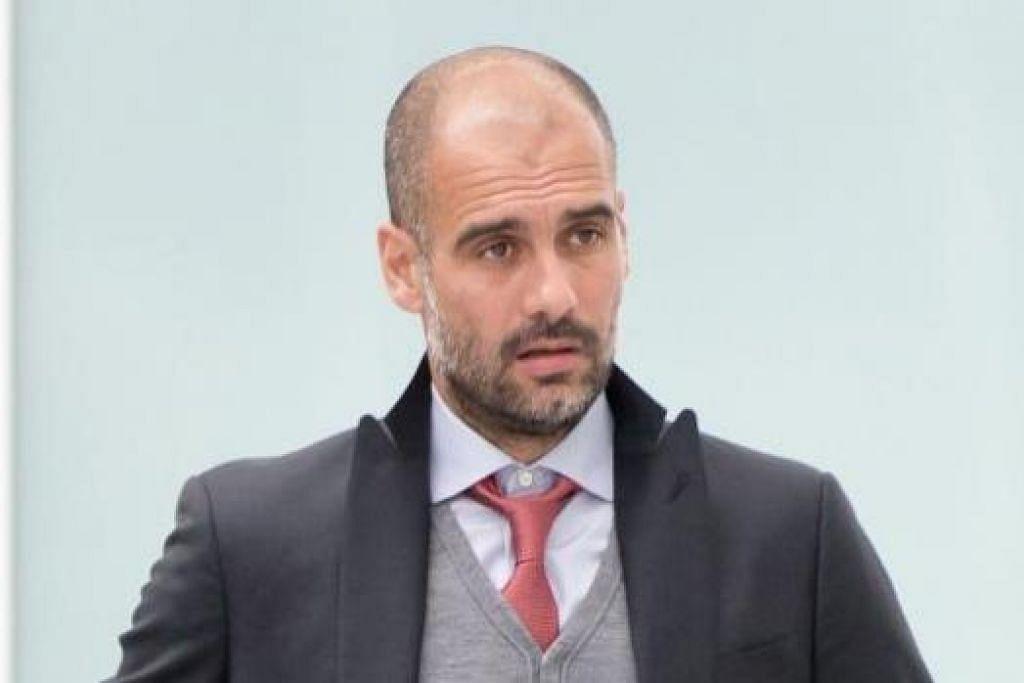 PEP GUARDIOLA: Jurulatih Bayern Munich ini enggan meratapi nasib pasukannya yang dilanda kecederaan menjelang perlawanan dengan Porto dalam suku akhir pertama Liga Juara-Juara Eropah. - Foto AFP