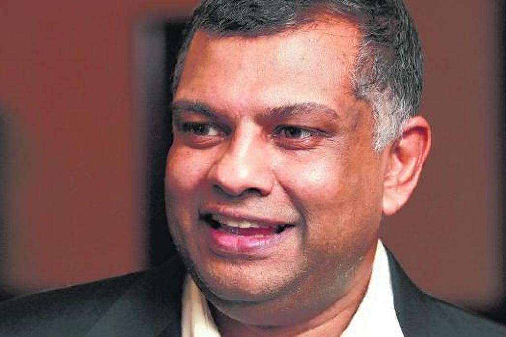 Tony Fernandes Antara 100 Individu Berpengaruh Pilihan Time Berita Dunia Beritaharian Sg