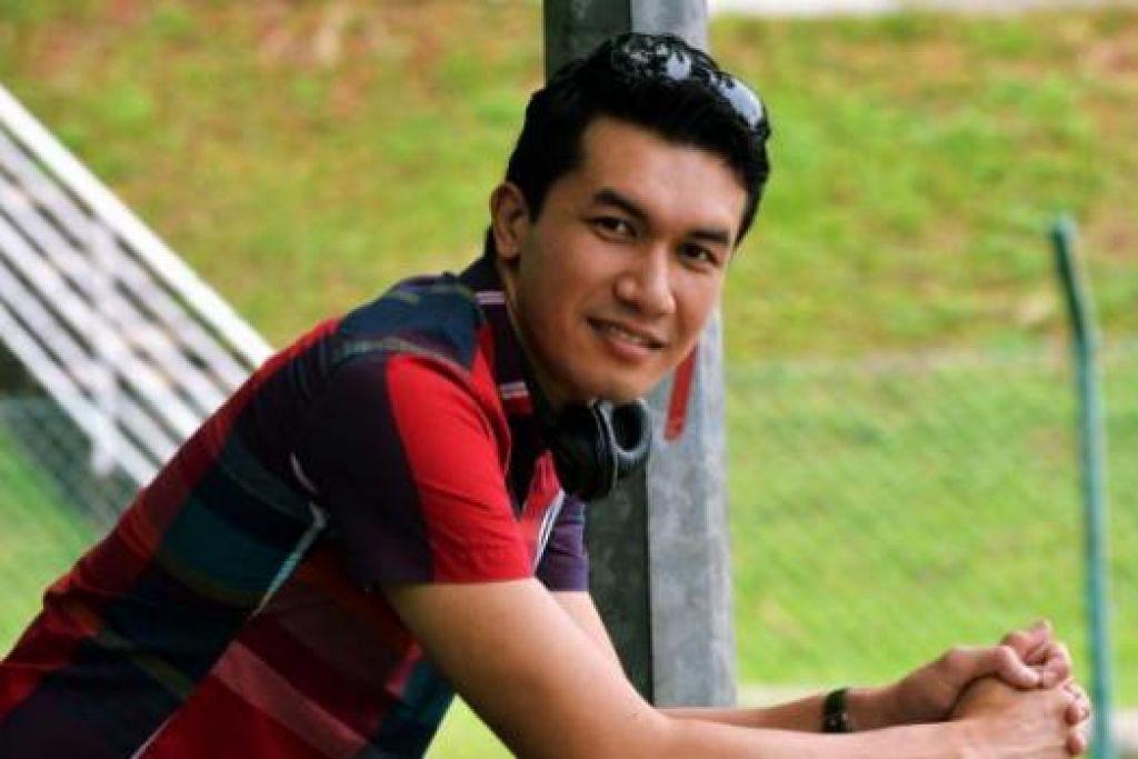 PELAKON 'BARU': Nama pelakon Ungku Ismail Aziz popular menerusi siri drama stesen televisyen TV3 'Teman Lelaki Upahan' walaupun beliau sudah berlakon selama 10 tahun. - Foto KHALID BABA