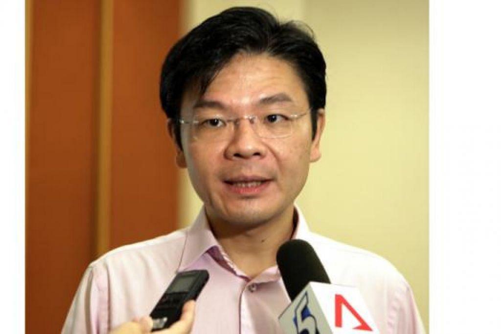 Menteri Kebudayaan, Masyarakat dan Belia, Encik Lawrence Wong.
