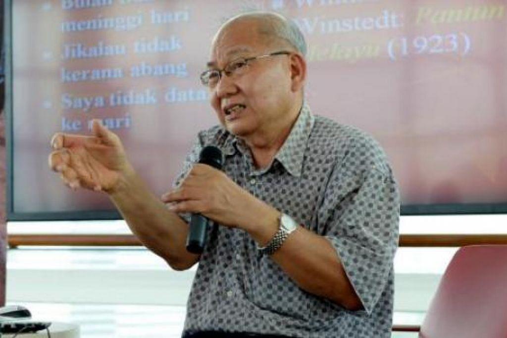 MAHAGURU DIHORMATI: Bakti besar Profesor Dr Ding Choo Ming (gambar) dalam Pengajian Melayu telah mendapat penghormatan di rantau ini, termasuk laman sawang 'Melayu Online'. - Foto-foto fail
