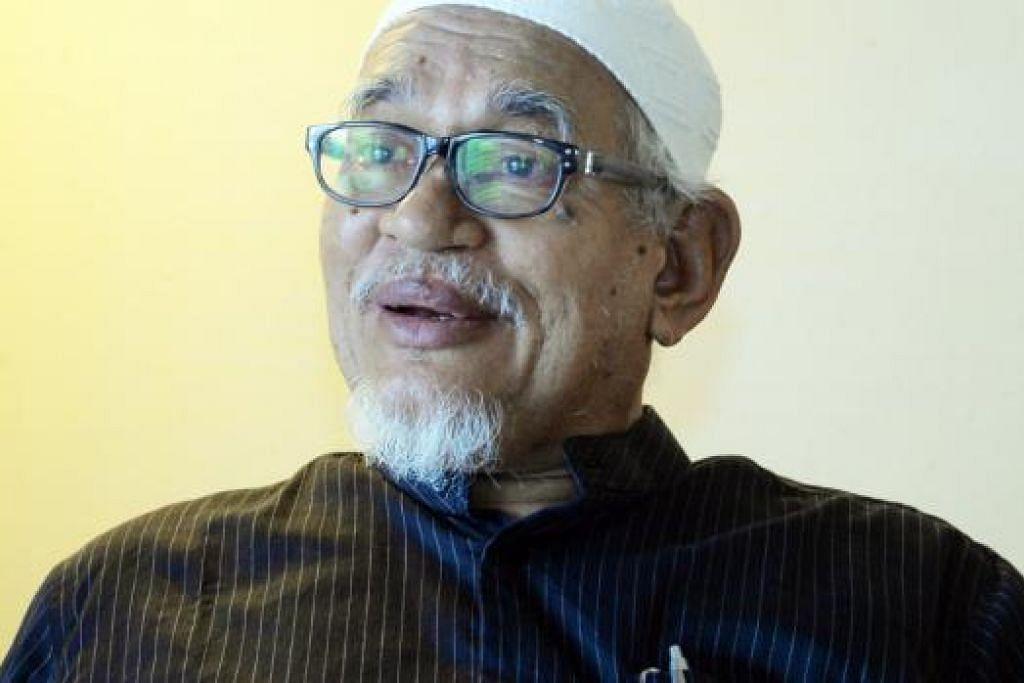 DI AMBANG PERPECAHAN: Presiden PAS, Datuk Seri Abdul Hadi Awang berkata, PAS sendiri tidak pasti apa yang akan berlaku kepada pihak pakatan pembangkang jika parti sekutu itu berpecah. - Foto BERITA HARIAN