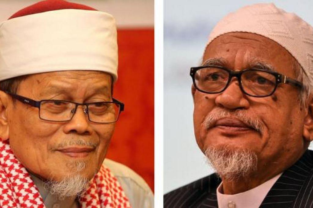 USTAZ AHMAD AWANG (kiri) dan DATUK SERI HADI AWANG
