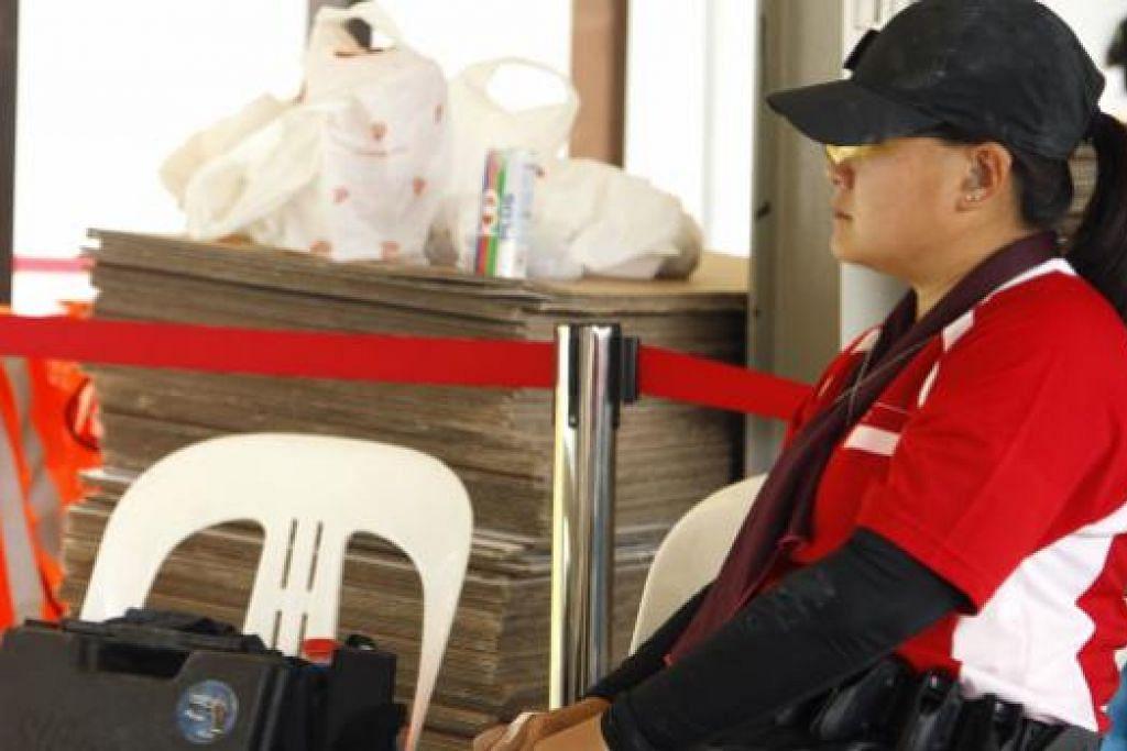 Hampa: Goh Hui Ruang hampa selepas penyertaannya dibatalkan kerana menjatuhkan senjata.