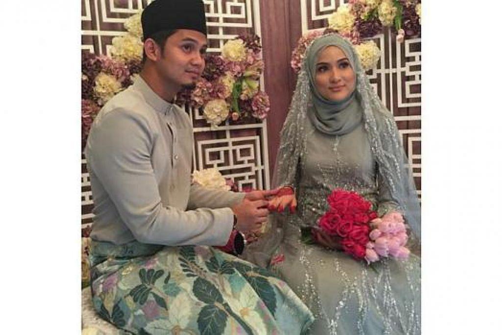 SALING MEMAHAMI: Hanis Zalikha mendapatkan izin suaminya, Hairul Azreen, agar dapat terus tinggal bersama ibu bapanya. - Foto UTUSAN ONLINE