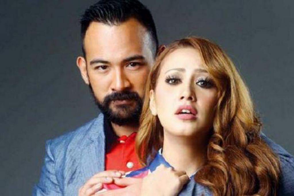 BERPAKAIAN 'NUDE': Fathia, yang digandingkan dengan Sharnaaz Ahmad dalam filem 'Darah Panas', sanggup melakukan babak ranjang kerana berpendapat filem tersebut mengandungi banyak isu kemasyarakatan. - Foto HARIAN METRO
