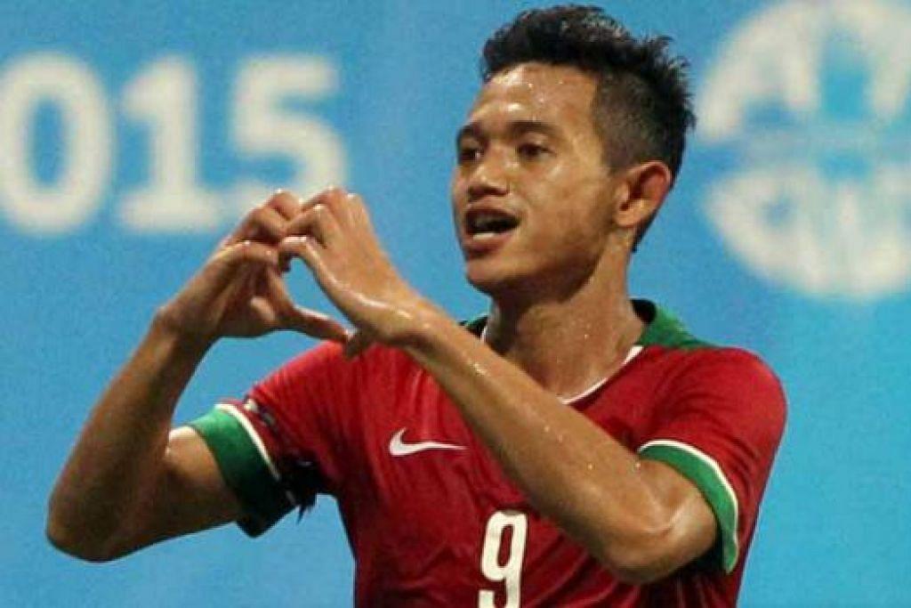 PENYERANG BERBAHAYA: Muchlis Hadi Ning Syaifulloh telah menjaringkan tiga gol setakat ini. - Foto REUTERS
