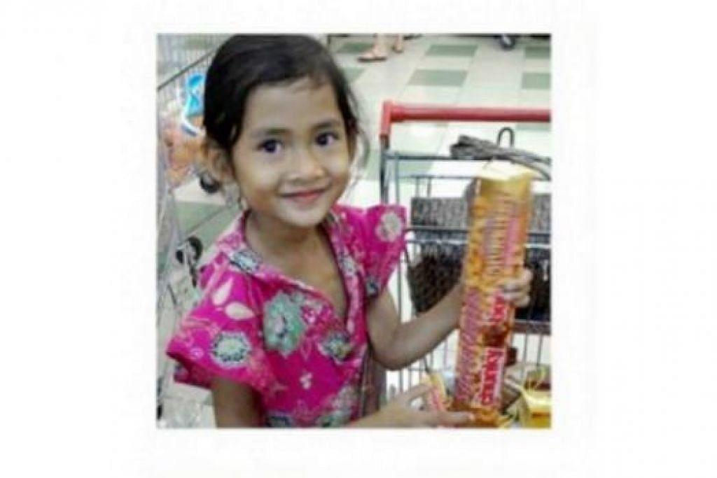 ANGELINE: Mayatnya ditemui tertanam di belakang rumah ibu angkatnya. - Foto THE JAKARTA POST