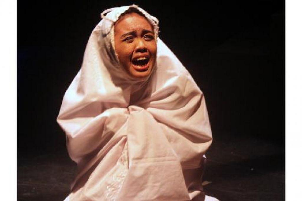 AMIRAH YAHYA: Cemerlang sebagai Sasha.