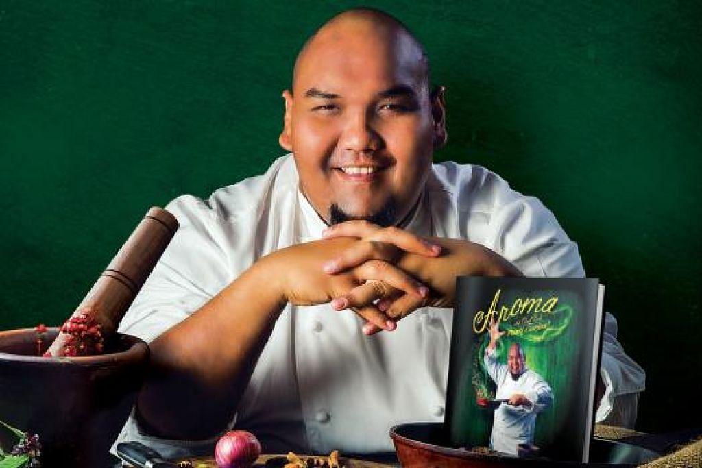 IMPIAN JADI NYATA: Cef Bob akhirnya dapat menghasilkan sebuah buku masakannya sendiri selepas pertama kali mengehoskan rancangan masakan pada 2007. - Foto WAN'S WORLD CREATIVE WORKS