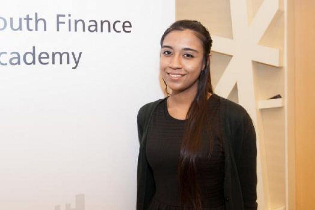 CIK FATIN FARIHAH: Dapati industri kewangan adalah sebuah industri yang kompetitif dan penuh cabaran.