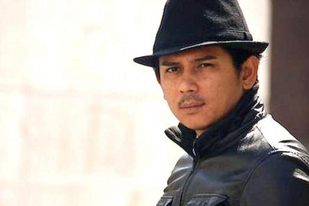 JADI PENGARAH: Zul Huzaimy bakal mengarah telefilem Lebaran 'Projek Bakar Lemak' dan melancarkan jenama baju Melayu tulang belut. - Foto HYE BRO