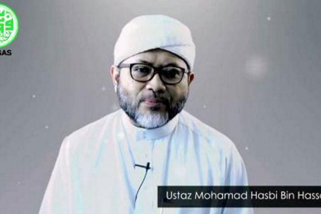 BUAT JULUNG KALI: Siri video terbitan Pergas bertajuk 'Nur Ramadan' bermula semalam dengan episod pertama disampaikan oleh Ustaz Mohamad Hasbi. - Foto PERGAS