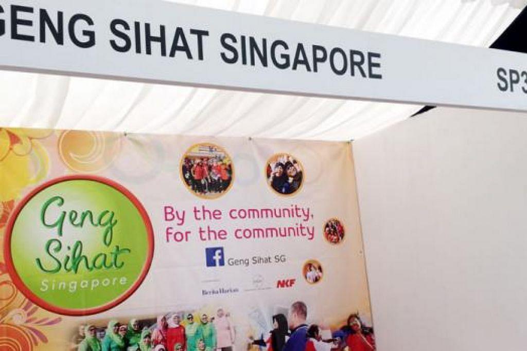 GERAI GSSG: Geng Sihat SG akan membuka gerai bazar Ramadannya di SP34 di hadapan Singapore Post Centre. Orang ramai boleh mendapatkan butiran lanjut mengenai program GSSG di gerai ini. - Foto GENG SIHAT SG