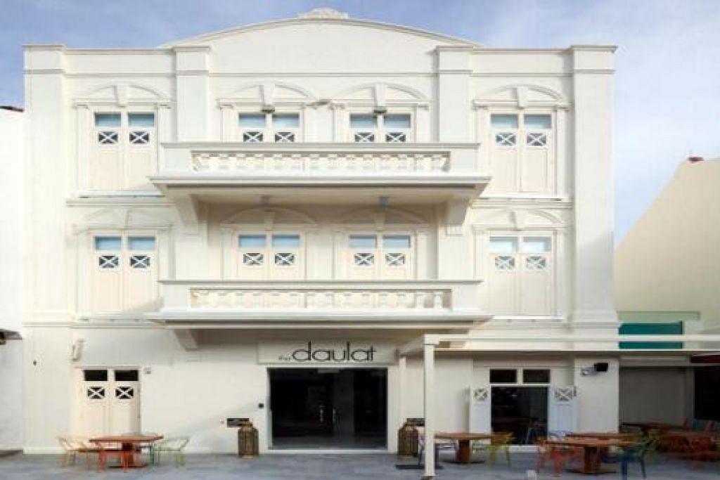HOTEL BUTIK: Hotel yang telah dibina oleh MES di Little India, The Daulat.