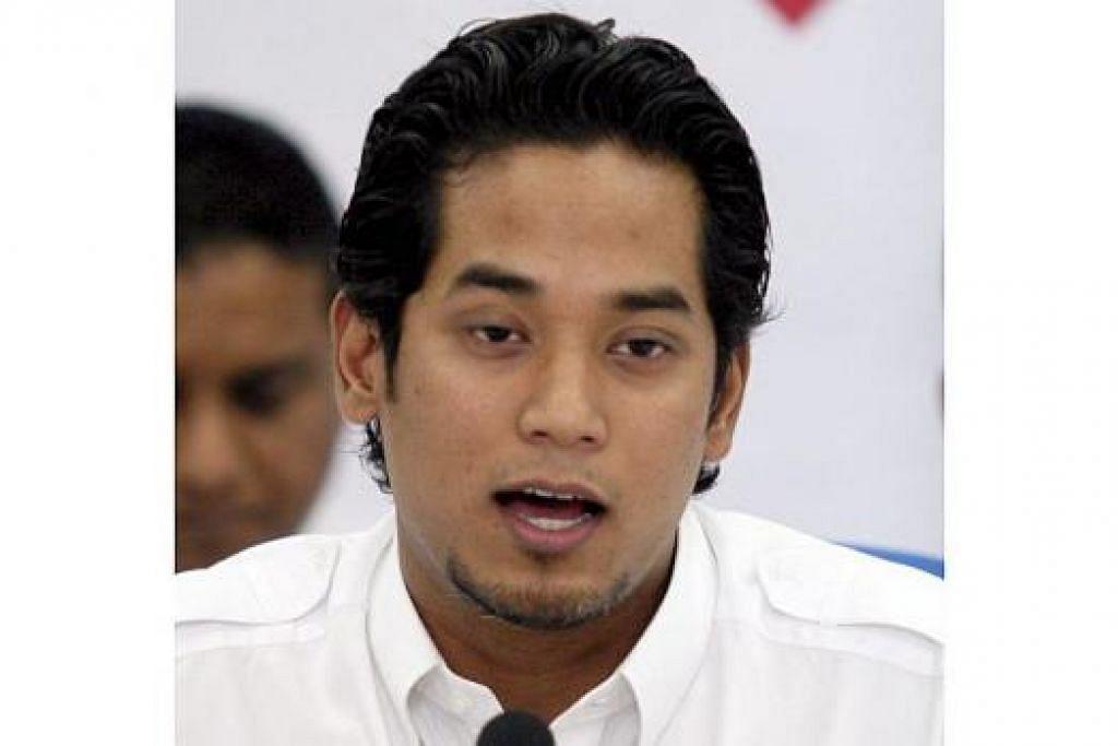 Ketua Pemuda Umno, Encik Khairy Jamaluddin.