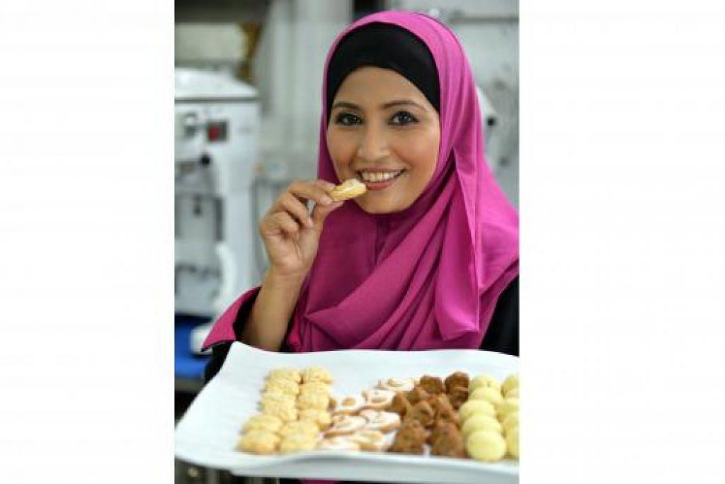 CEF SITI MASTURA: Banyak buku resipi jarang beri panduan untuk pastikan kek dan biskut dapat disiapkan secara sempurna, kata cef selebriti ini. - Foto-foto M.O. SALLEH