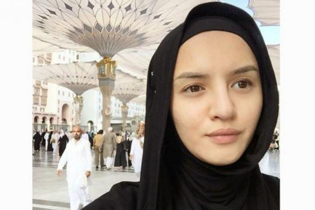 JANGKA BERSALIN JANUARI DEPAN: Hanez Suraya berkata sejak hamil, beliau rasa loya terhadap bau-bauan seperti minyak wangi dan masakan. – Foto INSTAGRAM HANEZ SURAYA