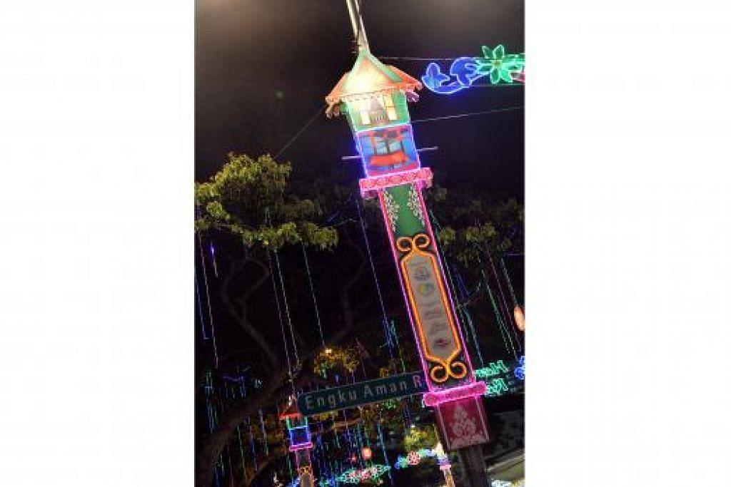 UNIK: Desain Lampu Hari Raya tahun ini menampilkan ciri kehidupan kampung selain budaya serta tradisi Melayu dan Islam.