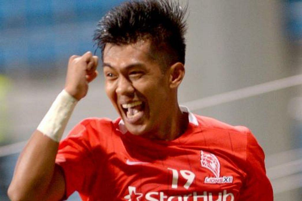 Khairul Amri akhiri kemarau gol.