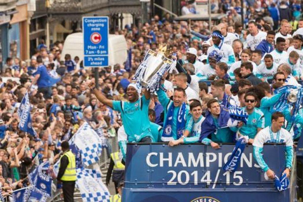 KEKAL PERKASA: Chelsea dijangka mengekalkan tunggak pasukan yang menjadi juara liga musim lalu. - Foto AFP