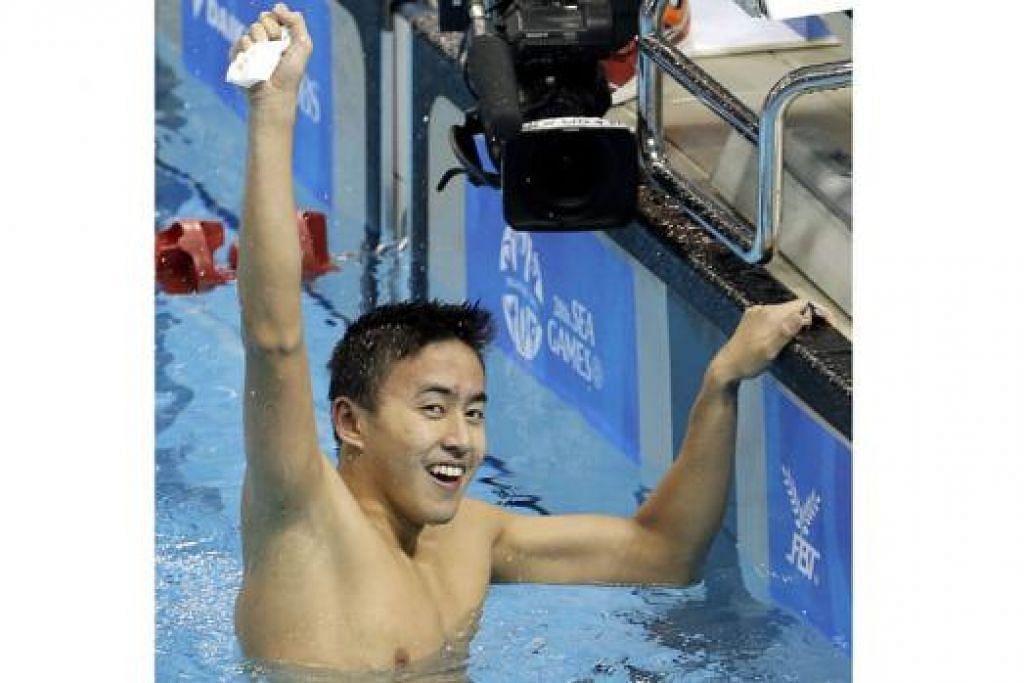 """""""Saya gembira mendengar berita ini dan berterima kasih di atas peluang dan penghormatan dapat mewakili Singapura di Sukan Olimpik 2016. Adalah menjadi impian setiap atlit mahu mewakili negara mereka di temasya sukan yang besar dan saya berharap dapat membanggakan keluarga, rakan dan negara di Rio nanti.""""  - Quah Zheng Wen (gambar). - Foto fail"""