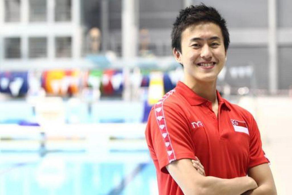 LEBIH DARIPADA PENGALAMAN: Quah Zheng Wen enggan mensesiakan peluang memburu kejayaan selepas diberi peluang beraksi di Sukan Olimpik tahun depan. - Foto ZAOBAO