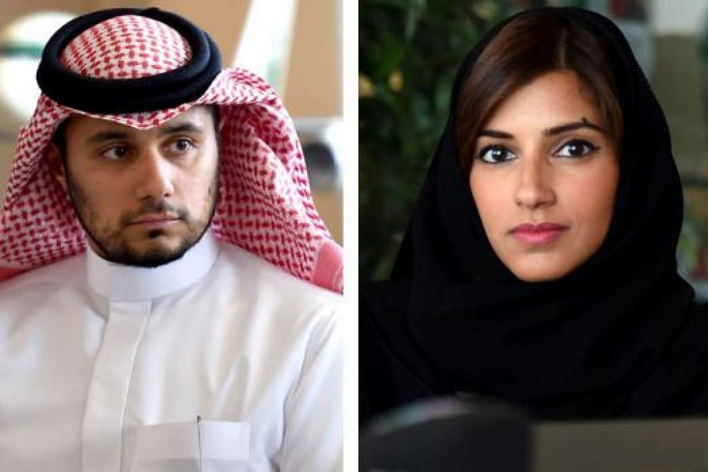 URUSKAN DANA: Anak-anak Putera Alwaleed, Putera Khaled (kiri) dan Puteri Reema diberi tanggungjawab menguruskan hartanya ke arah usaha kebajikan. - Foto AFP