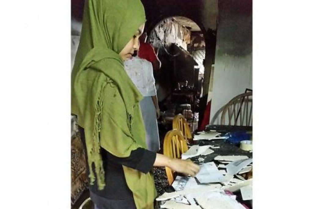 CIK JUNAIDA: Dapur baru diubahelok dua bulan lalu. - Foto ihsan JUNAIDA ROSLAN