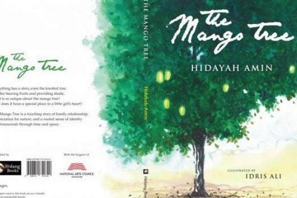 HASRAT MENJAGAT: Cik Hidayah Amin bercita-cita meluaskan penulisan dan penerbitannya untuk khalayak dunia. Tiga bukunya ialah Gedung Kuning, The Mango Tree (atas) serta 'Malay Weddings Don't Cost $50'. - Foto-foto fail