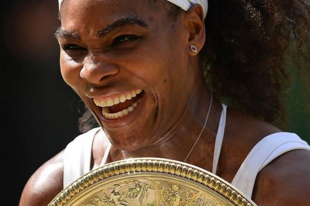 SERENA WILLIAMS - Foto AFP.