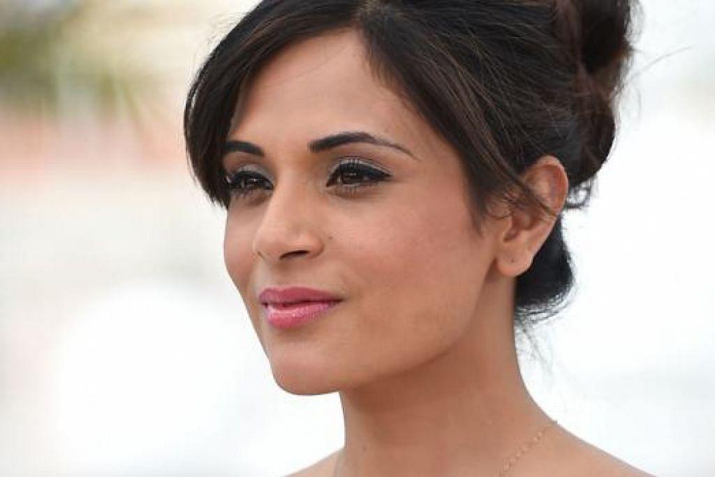 MAHU WATAK MEMUASKAN: Richa Chadda enggan lagi terima tawaran memegang watak yang pernah beliau mainkan. - Foto AFP