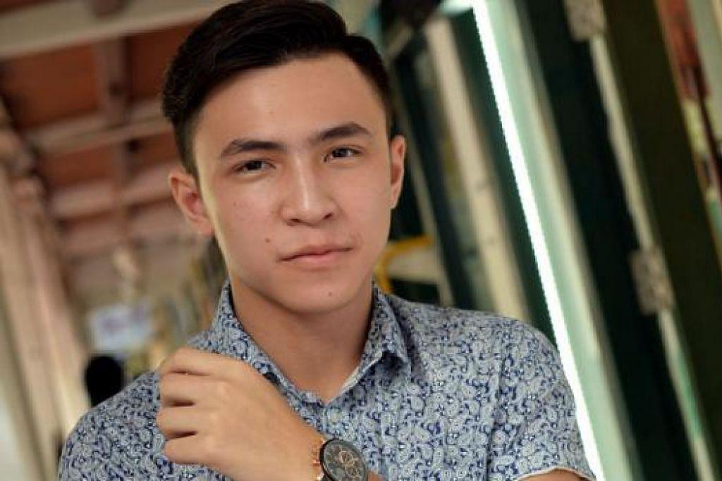 MISI TERSENDIRI: Pada usia 16 tahun, Harris Alif sudah pun melakar pelan perniagaan memajukan bisnes label fesyen Chemboja dan kerjaya hiburannya. - Foto M.O. SALLEH