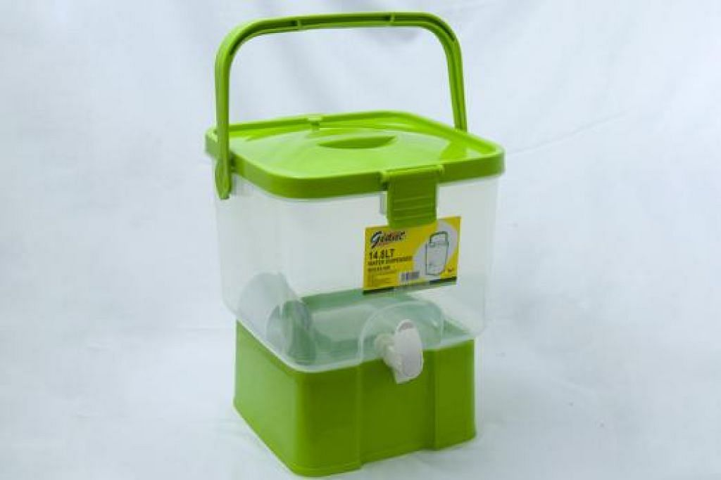 DISPENSER MINUMAN PLASTIK 14.8L GIANT
