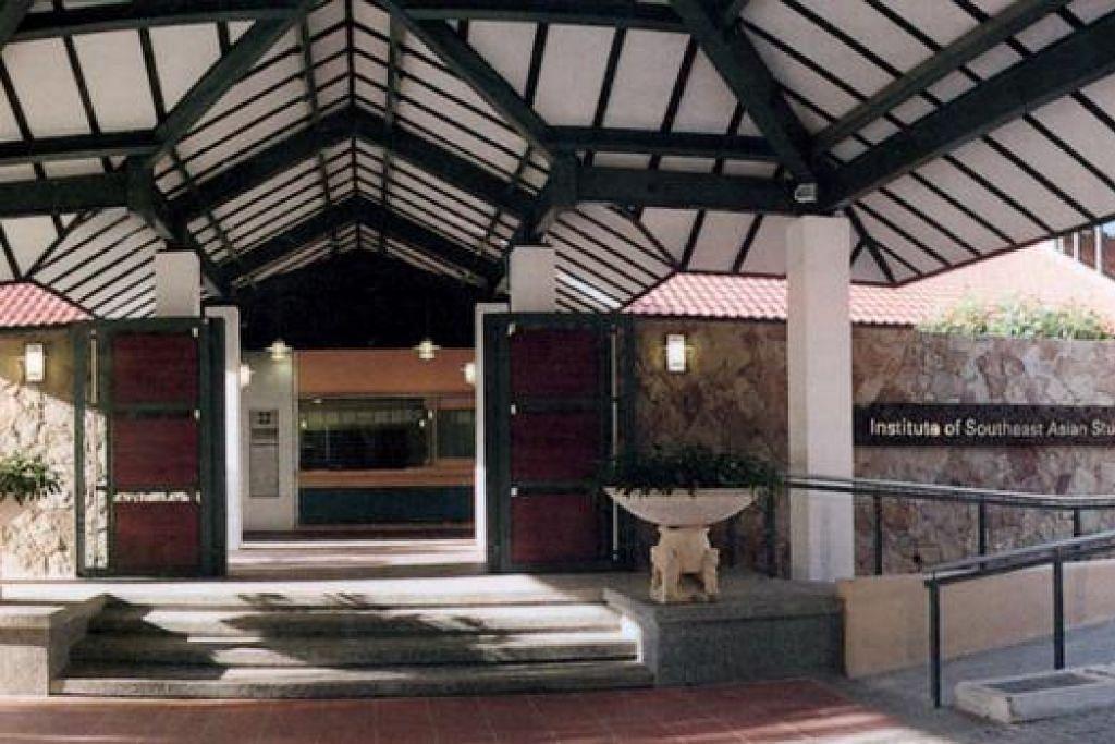 SANJUNGAN TERTINGGI: Parlimen meluluskan pindaan rang undang-undang untuk menukar nama Iseas kepada Institut Iseas Yusof Ishak sebagai merakam dan mengiktiraf jasa Presiden pertama Singapura Encik Yusof Ishak (paling atas). - Foto-foto fail