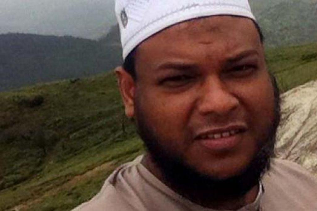 KEMATIAN MENGEJUT: Nizam Rahman, yang dahulu aktif bernyanyi dan kemudian mengubah penampilannya, dikatakan tidak mengidap sebarang penyakit. - Foto-foto FB, fail