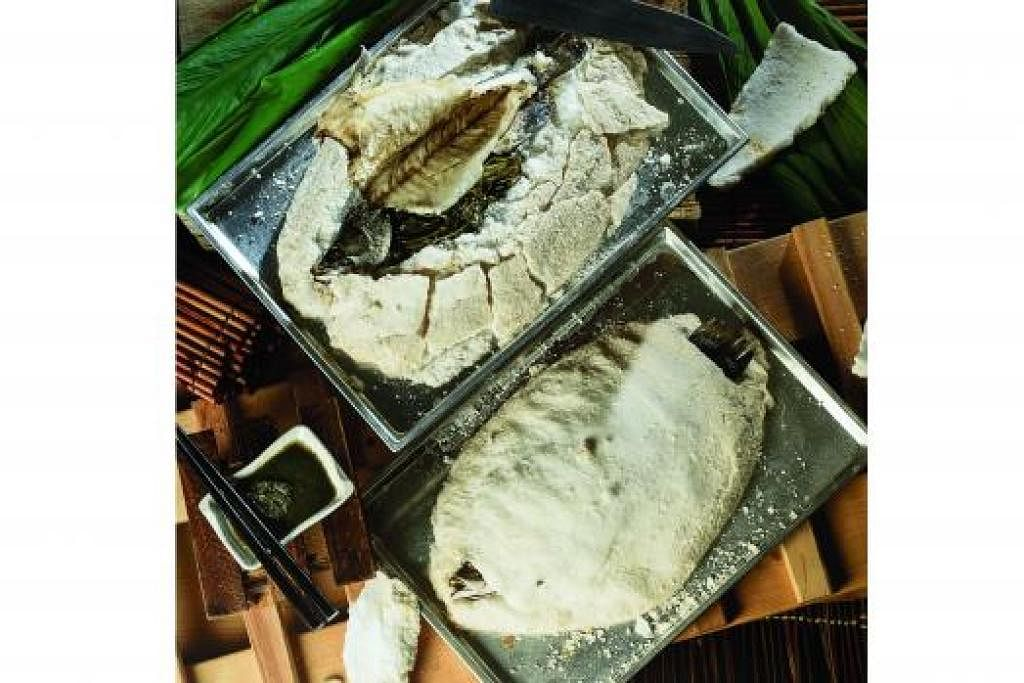 HIDANGAN AGAK LUAR BIASA: Ikan siakap digunakan untuk masakan ini. - Foto-foto WAN'S WORLD CREATIVE WORKS