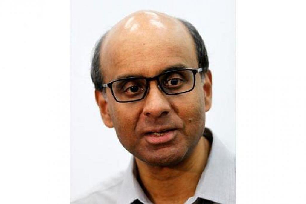 DPM merangkap Menteri Kewangan, Encik Tharman Shanmugaratnam