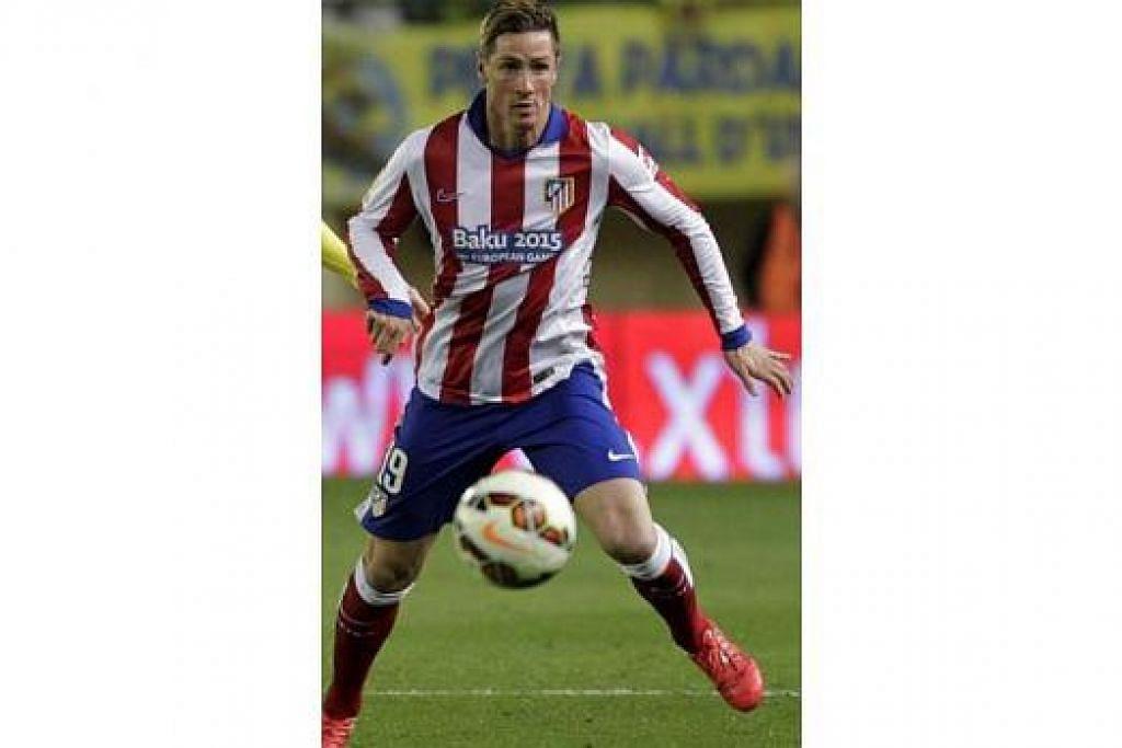 FERNANDO TORRES: Menyerlah pada tempoh awal di England mendorong Chelsea membelinya, namun persembahan 'buruk' bermakna Torres akan dijual kepada Atletico Madrid