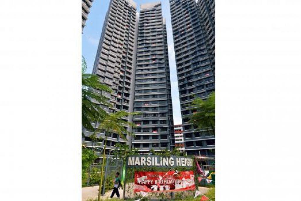 GRC BARU: GRC Marsiling-Yew Tee, yang merangkumi sebahagian GRC Chua Chu Kang dan juga GRC Sembawang.- Foto KHALID BABA