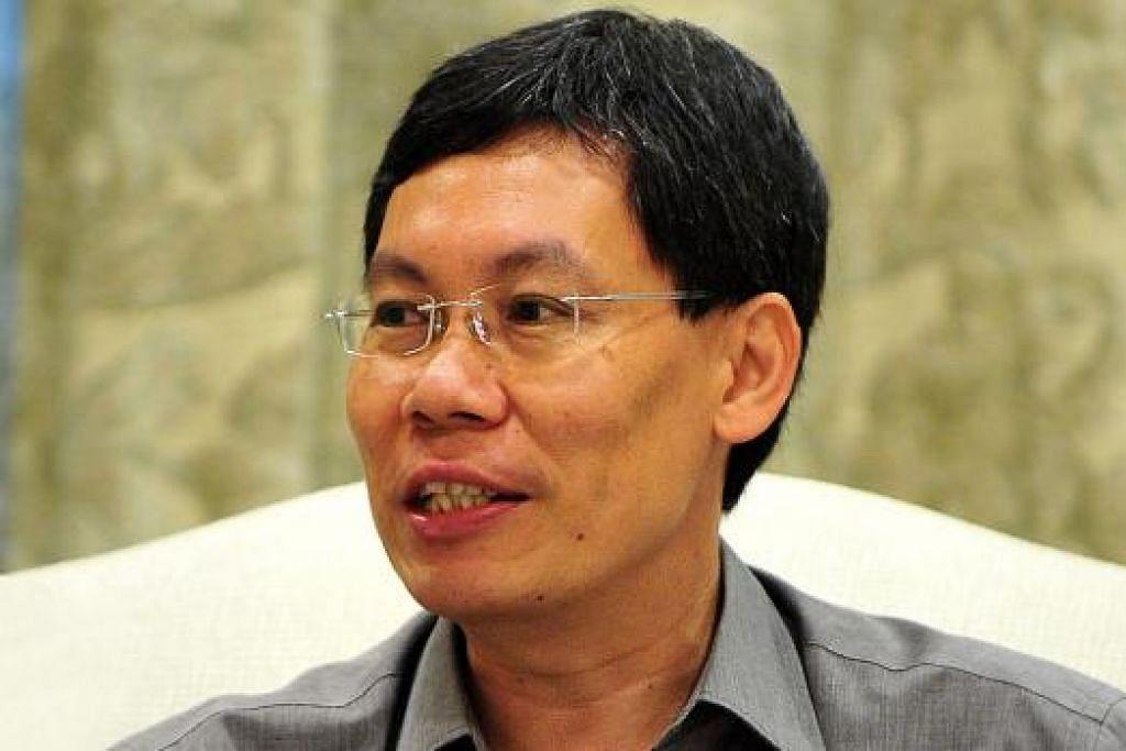 Menteri Pengangkutan, Encik Lui Tuck Yew