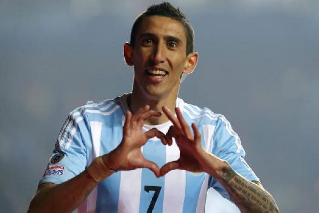 ANGEL DI MARIA: Pemain dari Argentina itu dijadualkan melaporkan diri semalam.