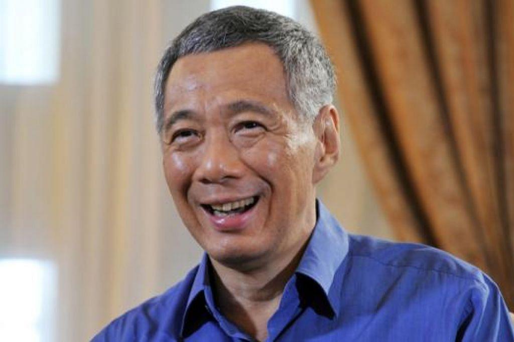 PERDANA MENTERI LEE HSIEN LOONG: Kagum dengan sifat ihsan dan ramah mesra masyarakat Melayu/Islam.