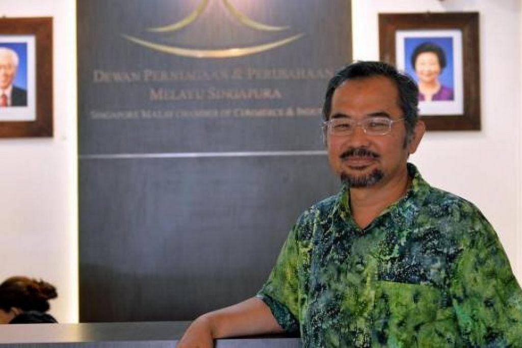 HASIL DPPMS DEKATI PENIAGA: Selain kenaikan anggota Dewan, Encik Zahidi juga mendapati semakin ramai peniaga Melayu/Islam yang menghadiri latihan dan bengkel demi mempertingkat ilmu perniagaan mereka. - Foto KHALID BABA