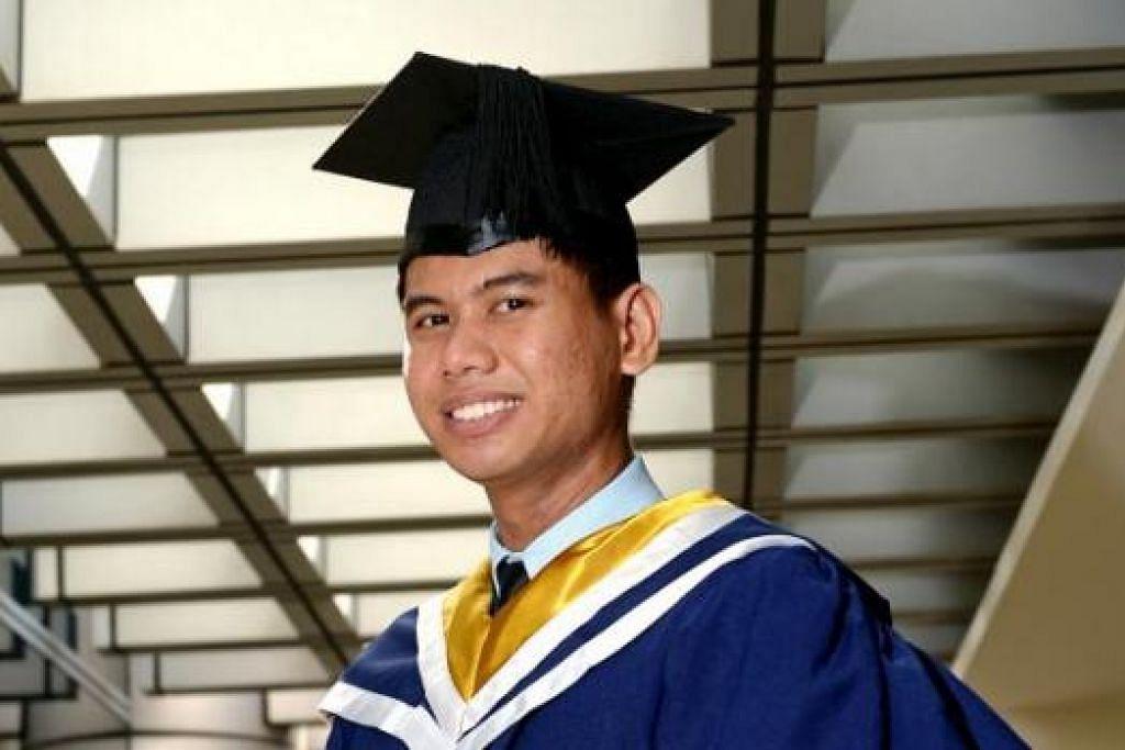 ENCIK MUHAMMAD NADZIR: Lulusan Institut Millenia (MI) ini mengikuti pengajian prauniversiti yang lebih lama iaitu selama tiga tahun. - Foto TUKIMAN WARJI