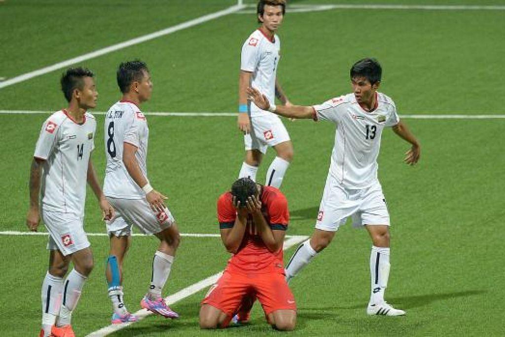 Young Lions tersungkur dan tersingkir dari Sukan SEA selepas persembahan yang mengecewakan.
